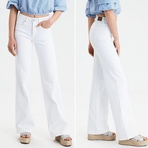 American Eagle Wide Leg Denim